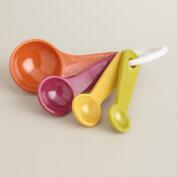 Harvest Colors Melamine Measuring Spoons