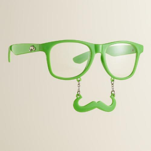 Glow-in-the-Dark Sun-Stache Glasses