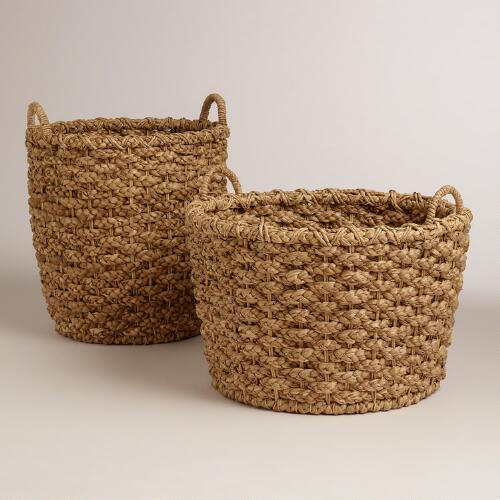 Natural Ava Tote Baskets