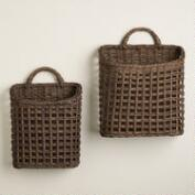Carmen Open Weave Baskets
