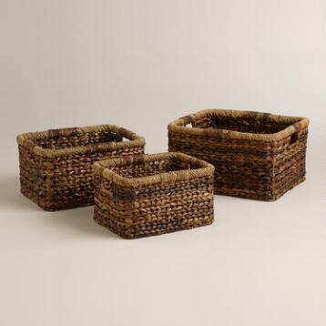 Lexie V-Weave Baskets