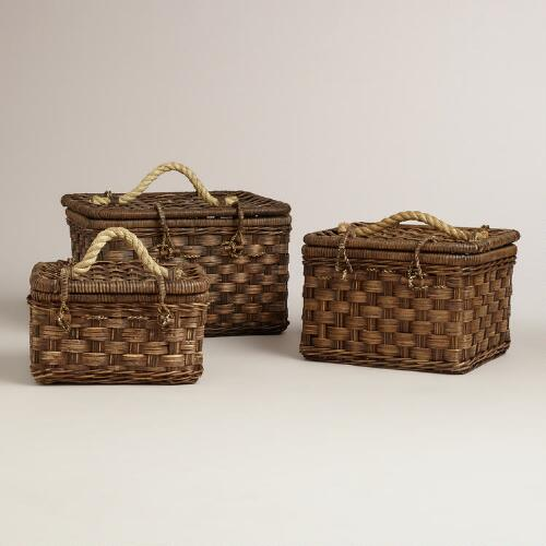 Jonah Rattan Baskets