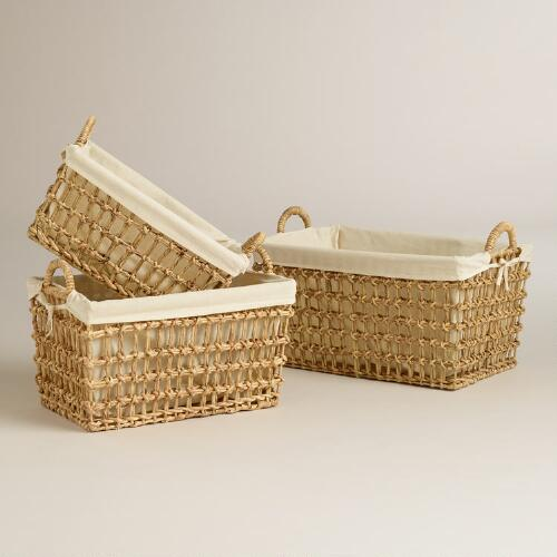 Ophelia Open Weave Baskets