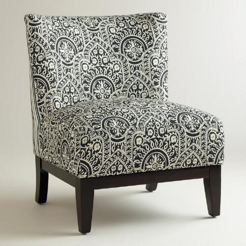 Black and White Darby Chair