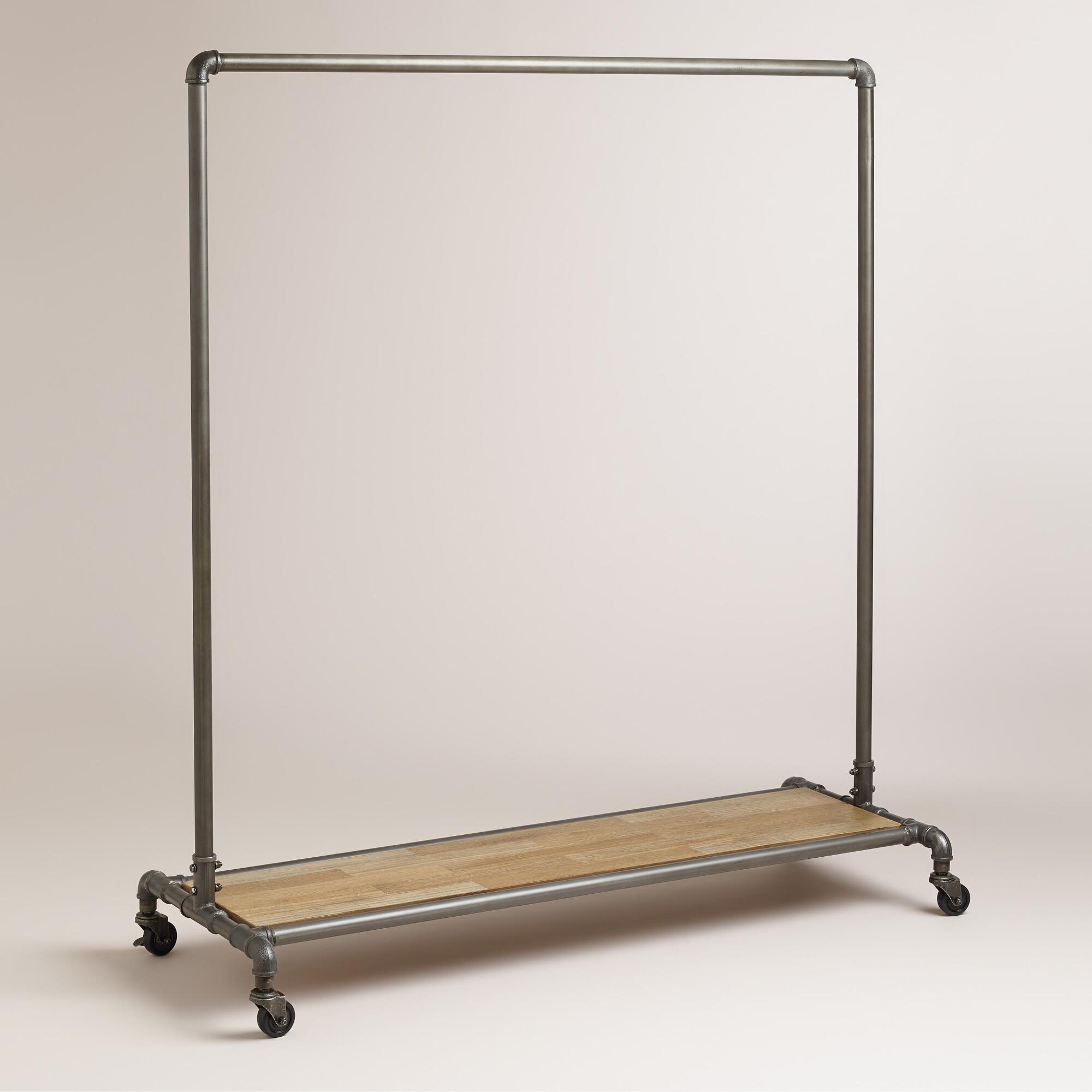 Marvelous photograph of Clea Pipe Clothes Rack World Market with #826849 color and 2000x2000 pixels