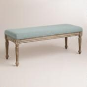 Blue Paige Bench