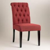 Firebrick Red Harper Dining Chairs, Set of 2
