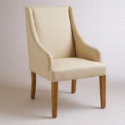 Linen Jayda Dining Chair