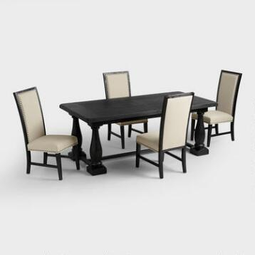 Rectangular Black Greyson Dining Collection
