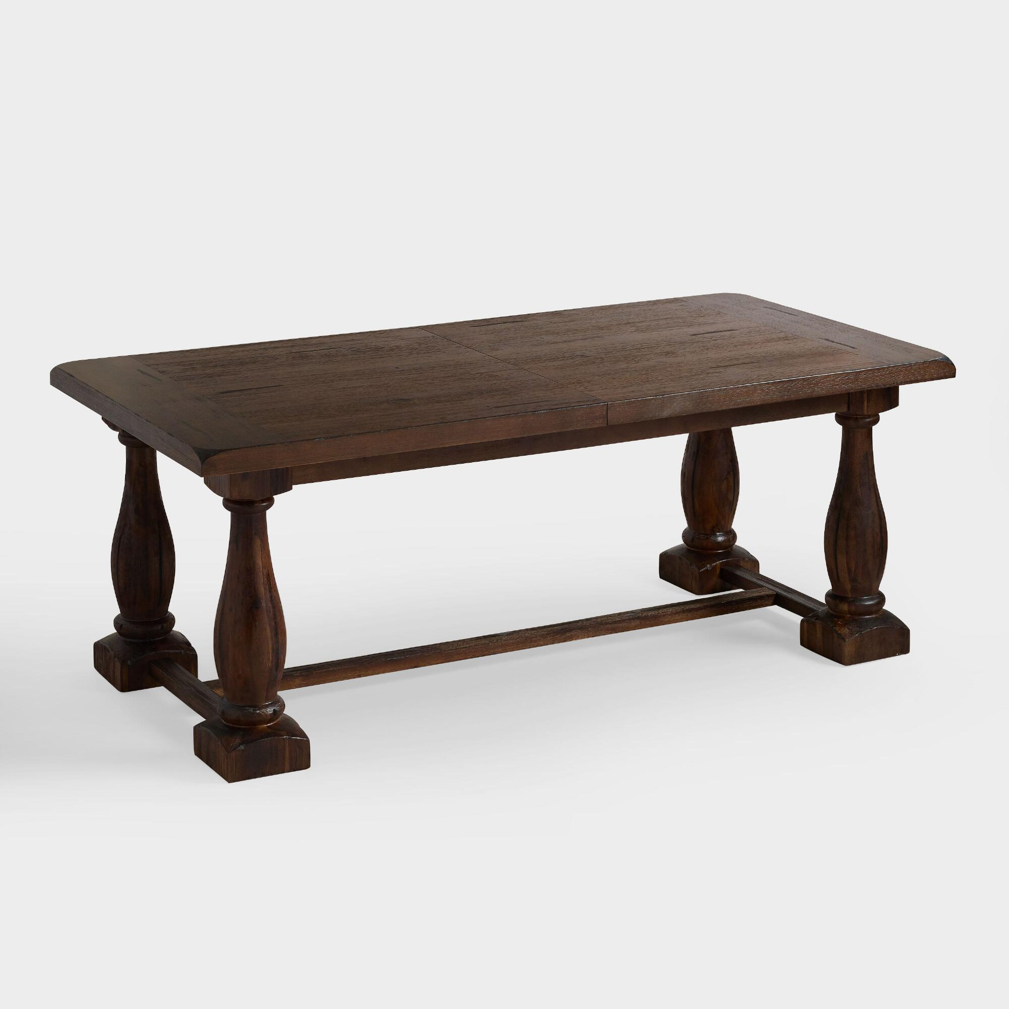 rectangular java greyson extension table world market