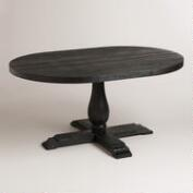 Round Black Greyson Extension Table
