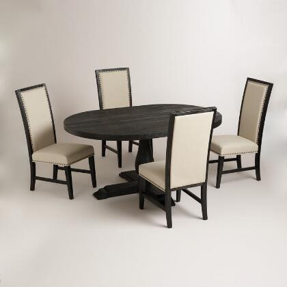 Round To Oval Black Greyson Extension Table World Market
