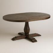 Oval Java Greyson Extension Table
