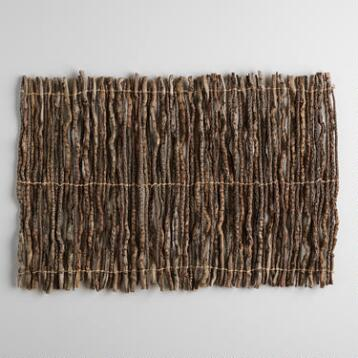 Coconut Twig Placemats, Set of 4