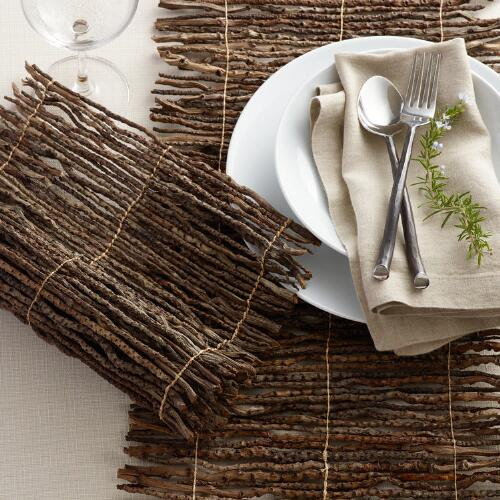 Coconut Twig Table Linen Collection