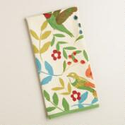 Woodland Birds Kitchen Towel