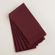 Wine Buffet Napkins, Set of 6