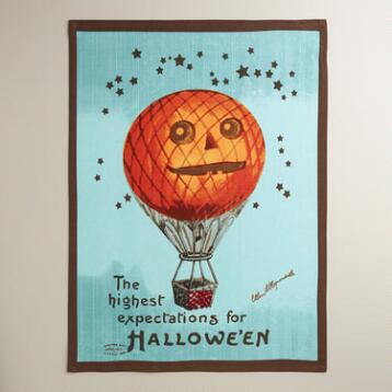 Pumpkin Balloon Kitchen Towel