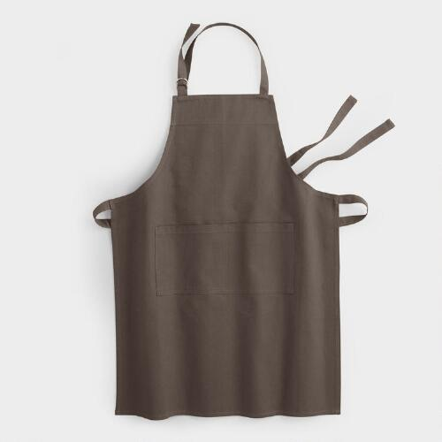 Pewter Gourmet Classic Apron
