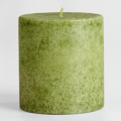 "3"" x 3"" China Pear Pillar Candle"