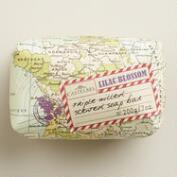 Castelbel Map Lilac Blossom Bar Soap