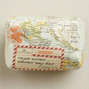 Castebel Map Apricot Bar Soap