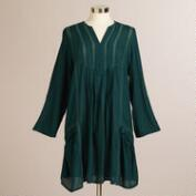 Green Stitch Florence Tunic Top