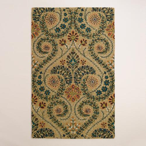 Treetop Tufted Indoor-Outdoor Rug
