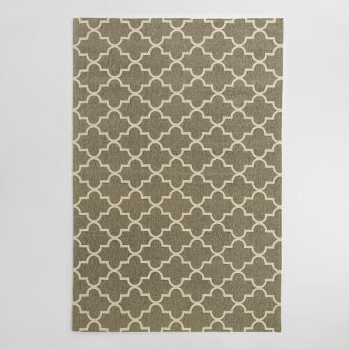 Gray Moroccan Jute Boucle Emy Area Rug