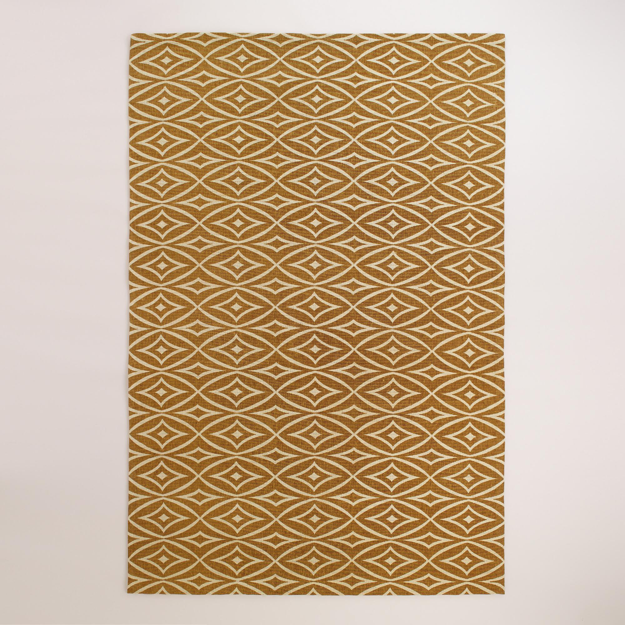 Elsie Wavy Diamond Jute Boucle Area Rug World Market