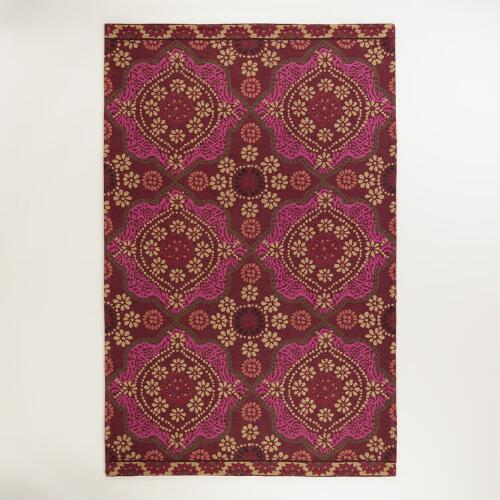 Desert Caravan Mosaic Indoor-Outdoor Rug