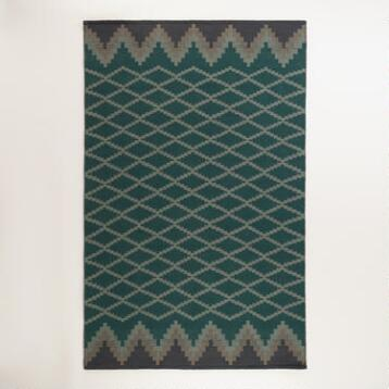 Nadine Lattice Flatweave Indoor-Outdoor Rug