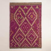 6'x9' Ruby Shag Area Rug