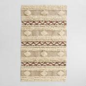 3'x5' Ivory Moroccan-Inspired Wedding Area Rug