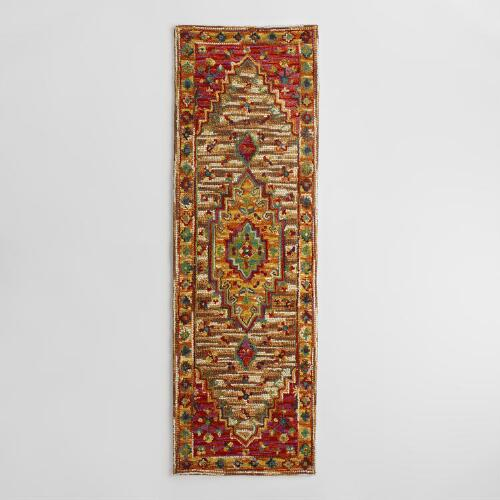 Zahra Caravan Tufted Wool Area Rug World Market