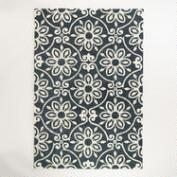 Nomad Tile Tufted Wool Area Rug