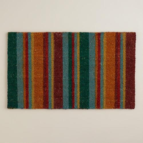 Harvest Stripe Doormat