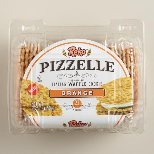 Reko Orange Pizzelle Cookies
