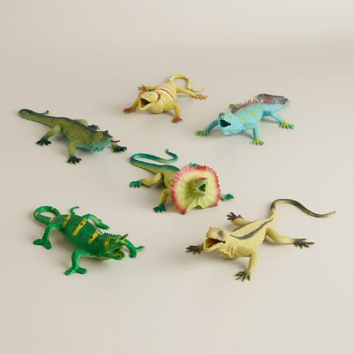 Squishy Lizards, Set of 6