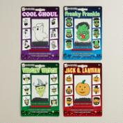 Halloween Wooly Willy, Set of 4