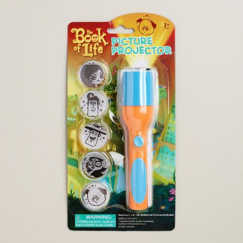 Book of Life Flashlight Picture Projector