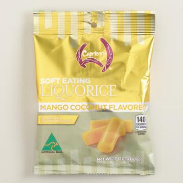 Capricorn Mango Coconut Licorice, Set of 8