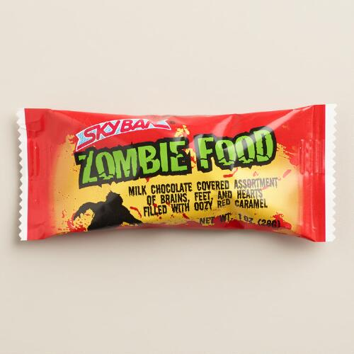 Necco Zombie Food Chocolates