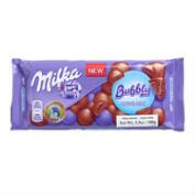 Milka Bubbly Milk Chocolate Bar
