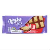 Milka Lu Biscuit Chocolate Bar