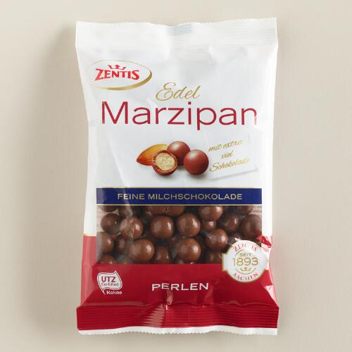 Milk Chocolate Marzipan Pearls