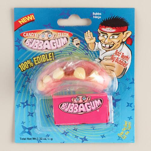 Bubbagum Candy Teeth
