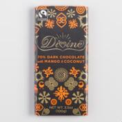 Divine Mango Coconut Chocolate Bar