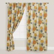Mackenzie Floral Tab Top Curtain