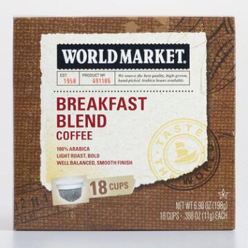 World Market® Breakfast Blend OneCup™ Coffee
